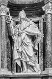 St James Statuary - Rome Royalty Free Stock Photography