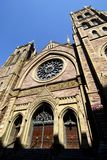 St James United Church. This image was taken in Montreal, Canada and shows St James United Church Stock Photo