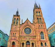 St. James United Church in Montreal, Canada Stock Images