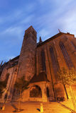 St James& x27; s Kerk in Rothenburg Royalty-vrije Stock Foto