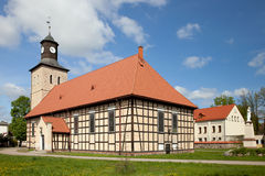 St Jan Chrzciciel Church dans Pisz Photos libres de droits