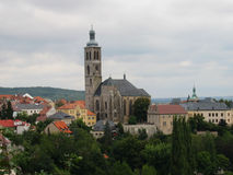 St. Jan Temple in Kutna Hora Royalty Free Stock Photography