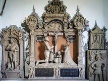 St Jaohannisberg de chapelle près de château Dhaun Allemagne Photos libres de droits