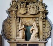 St Jaohannisberg de chapelle près de château Dhaun Allemagne Photo stock