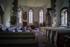 St Jaohannisberg de chapelle près de château Dhaun Allemagne Photographie stock