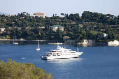 St Jean Cap Ferrat. Luxury and beauty describe St Jean Cap Ferrat Stock Images