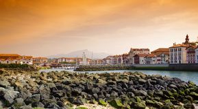 St Jean de Luz Harbor Stock Images