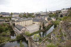 St. Jean, Grund, Luxembourg Royalty Free Stock Photos