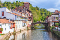 St Jean Pied de Port, France Stock Photography