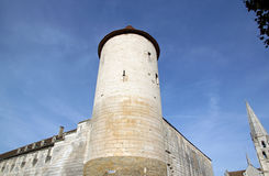 St Jean Tower, Auxerre Bourgondië, Frankrijk Royalty-vrije Stock Afbeelding