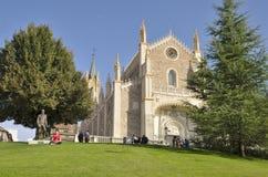 St Jerome Królewski kościół Obraz Stock