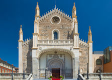 St. Jerome Royal Church in Madrid Royalty Free Stock Photos