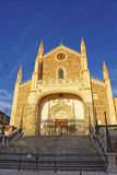 St. Jerome the Royal church in Madrid Royalty Free Stock Photos