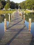 St. Jerome's Creek Pier Stock Photography