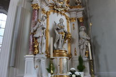 St Joannis da basílica em Sarburgo Imagem de Stock