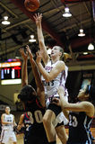 St. Joe's basketball player Kelly Cavallo Royalty Free Stock Photo