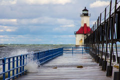 St. Joesph Lighthouse Royalty Free Stock Photography