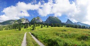 St Johan. Switzerland Stock Image