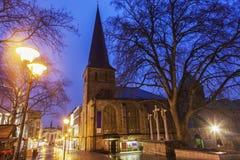 St. Johann Baptist Church in Essen Stockbild