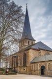 St. Johann Baptist church, Essen, Germany. The Catholic parish church of St. Johann Baptist, Essen, Germany stock photos