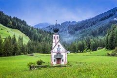 St Johann Church, Santa Maddalena, Italy Royalty Free Stock Photography
