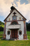 St Johann Church, Santa Maddalena, Val Di Funes, dolomías Fotografía de archivo libre de regalías