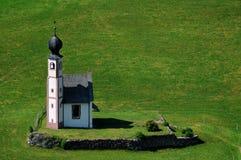 St Johann Church, Santa Maddalena, Val Di Funes, Dolomites Royalty Free Stock Image