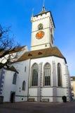 The St Johann church in Schaffhausen Royalty Free Stock Photography