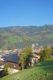 St.Johann Salzburgerland, Österrike Arkivfoton