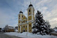 St. Johann in Tirol Church Stock Image