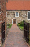 St. Johannes Church in the center of Wiefelstede Royalty Free Stock Photos