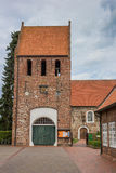 St. Johannes Church in the center of Wiefelstede Royalty Free Stock Photo