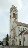 St. Johannes-Nepomuk katholieke kerk, Kehl, Duitsland Stock Foto