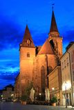 St. Johannis church in Ansbach Stock Images