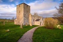 ST John η βαπτιστική εκκλησία σε Edlingham στοκ φωτογραφία με δικαίωμα ελεύθερης χρήσης