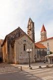 ST John η βαπτιστική εκκλησία (ΧΙΙΙ γ ) Κροατία trogir Στοκ εικόνες με δικαίωμα ελεύθερης χρήσης