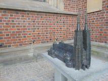 ST John το βαπτιστικό άγαλμα Catherdral στοκ εικόνα με δικαίωμα ελεύθερης χρήσης