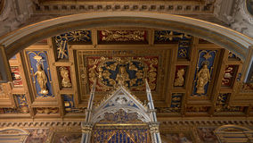 St. John в Lateran стоковое изображение rf