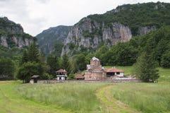 St. John монастырь евангелиста около Poganovo, Сербии Стоковые Изображения