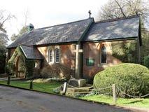 St. John церковь евангелиста, Heronsgate, Chorleywood стоковая фотография rf