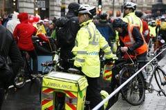 St John Ambulance aiders Stock Images