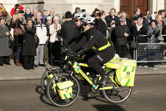 St John Ambulance aiders at Remembrance Day Stock Image