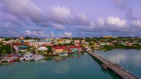 St John, Antigua en Barbuda stock videobeelden