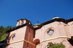 St John av den Rila kloster, Rila berg, Bulgarien Royaltyfri Bild