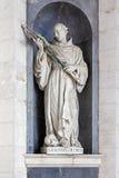St John av italiensk barock skulptur för gud Arkivbilder