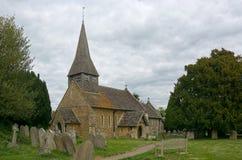 St John The Bapist Church, Capel, Sussex, het UK royalty-vrije stock foto