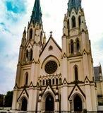 St John Baptist Cathedral royaltyfria foton