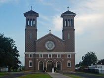 St John Baptist Catholic Church, Edgard, Louisiana Arkivfoton