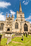 St John the Baptist church, Burford Royalty Free Stock Photo