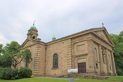 St John the Baptist Church, Buxton. Exterior of Saint John the Baptist church in Buxton, Derbyshire Stock Photography